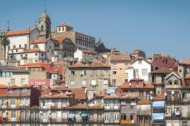 Вид на Порто с воды