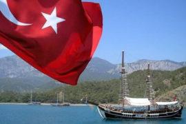 Въезд в Турцию.