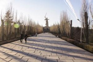 Дорога на Мамаев Курган