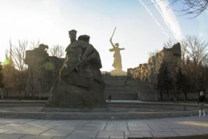 Площадь стоявших насмерть на Мамаевом Кургане