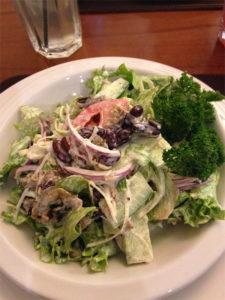 Фото салата в ресторане Флоренция в Волгограде
