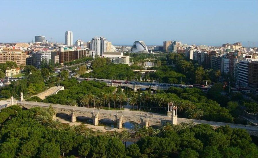 Парк Турия в Валенсии