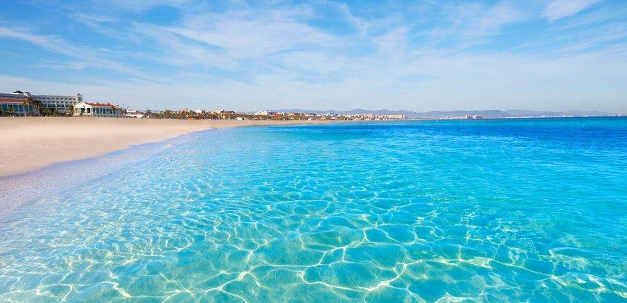 Пляж Мальваросса в Валенсии