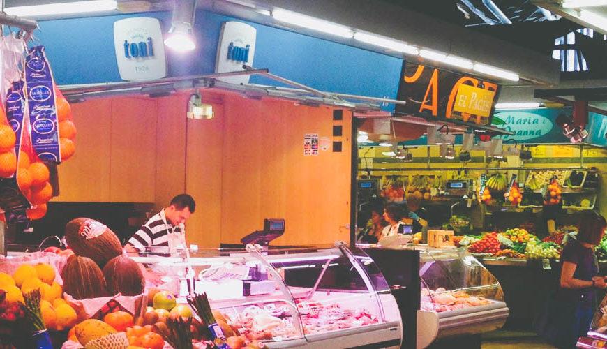 Рынок Святой Екатерины в Барселоне