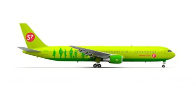 Boeing 767-300 S7 Airlines