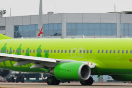 Самолет Boeing 737-800 S7 Airlines