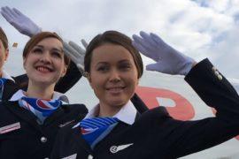 Стюардессы авиакомпании Россия