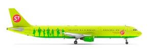Картинка маленького A321 S7