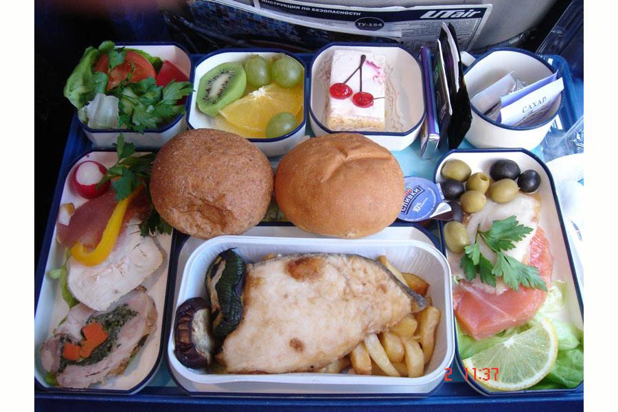 Utair еда на борту