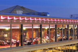 Вид на отель Хилтон в Праге