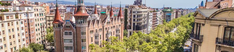 Дом с шипами в Барселоне