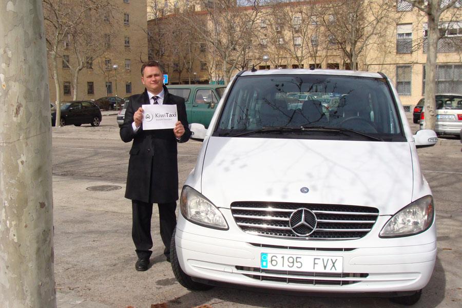 Встреча Киви Такси в городе