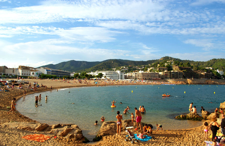 Тосса де Мар в Испании
