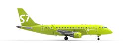 Маленькое изображение Embraer 170 S7 Airlines