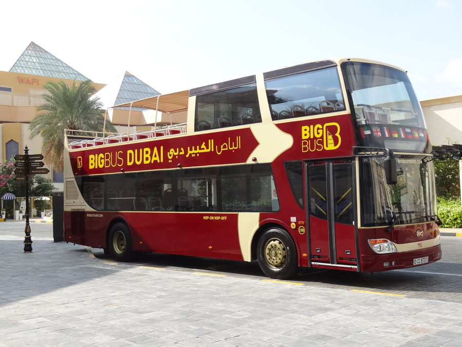Автобус Big Bus Dubai
