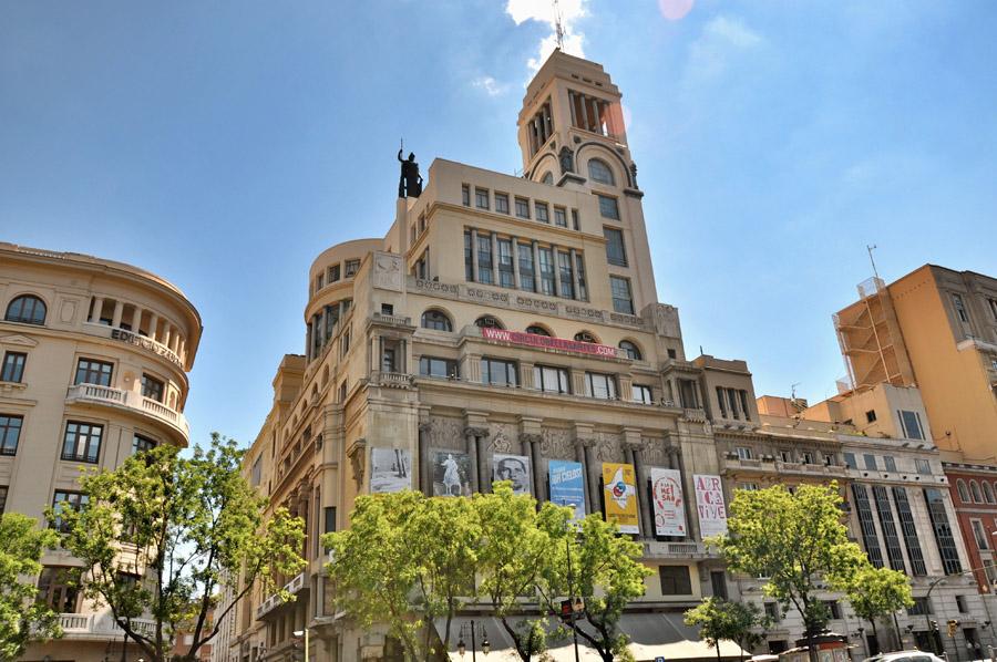 Círculo de Bellas Artes в Мадриде