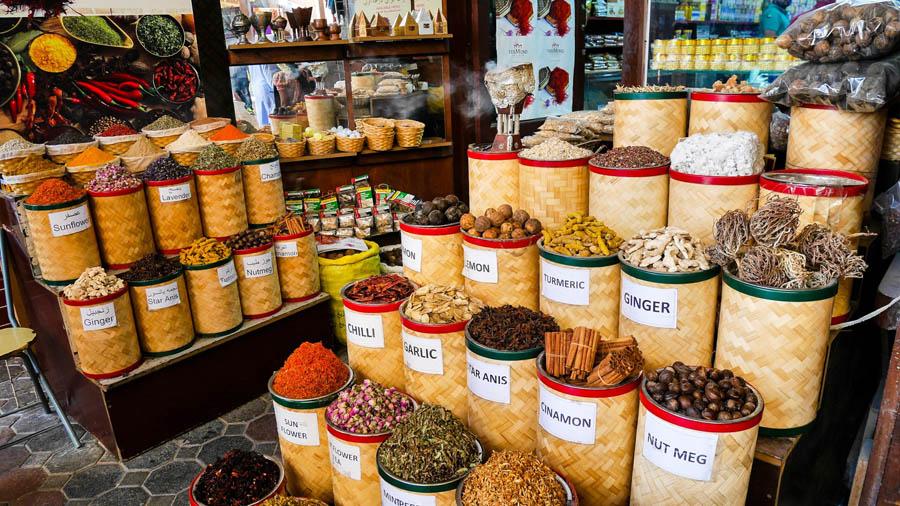 Рынок специй в Дубай