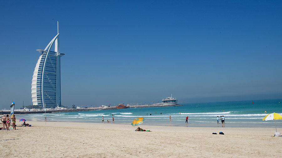 Пляж Джумейра в Дубай