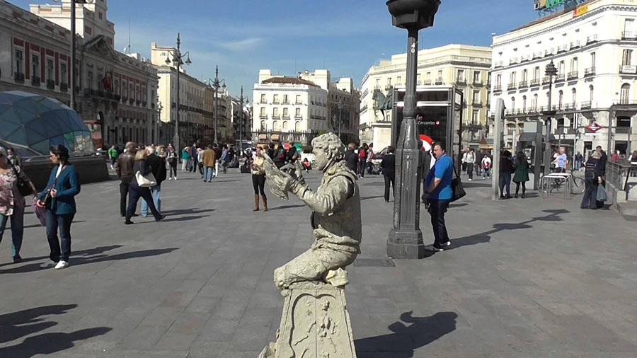 Puerta del Sol в Мадриде