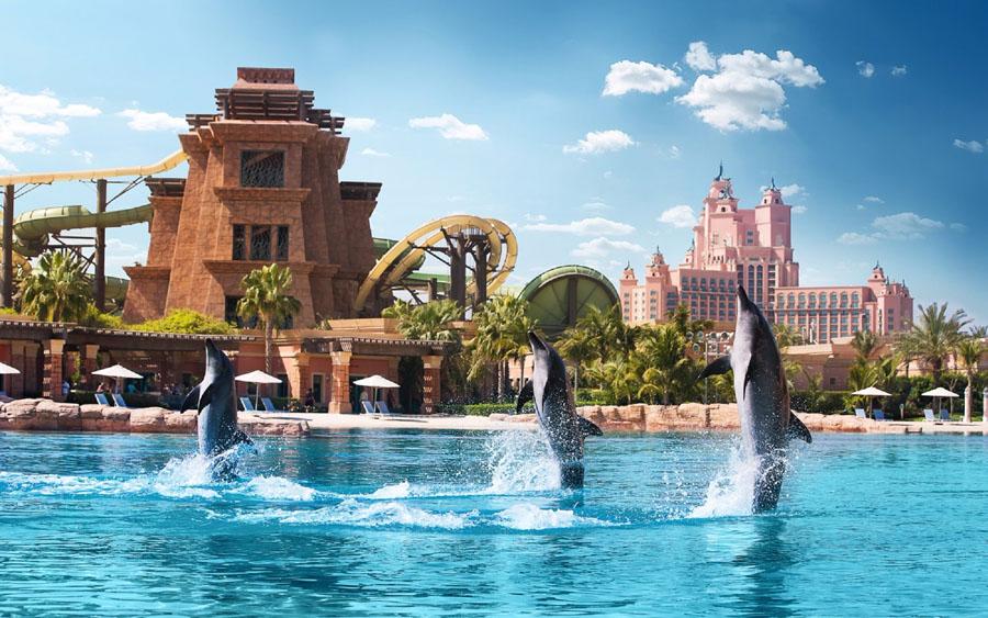 Аквапарк Aquaventure в Дубай