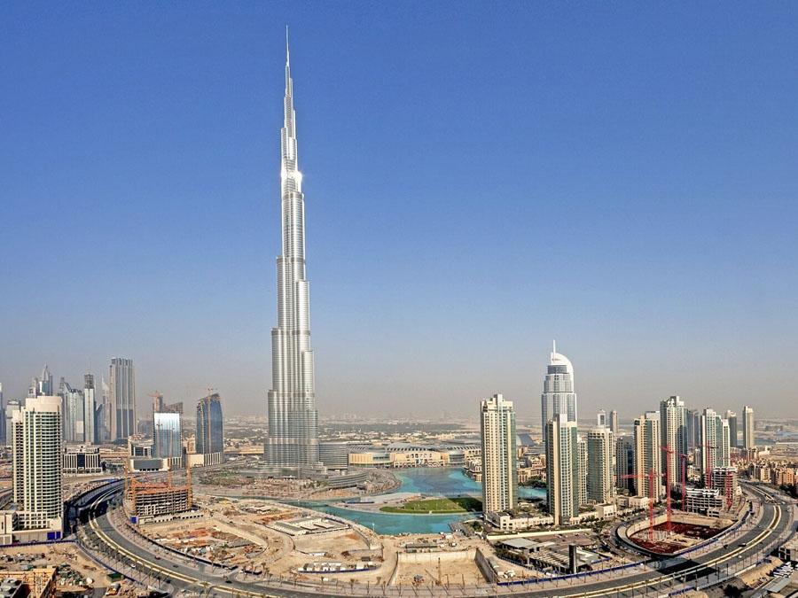 Бурж Халифа в Дубай