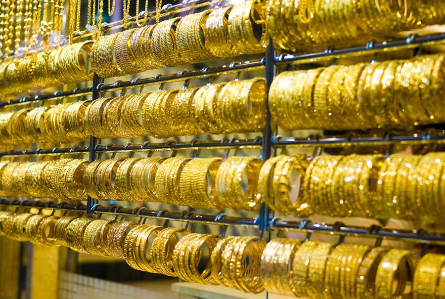 Золотой рынок в Дубай