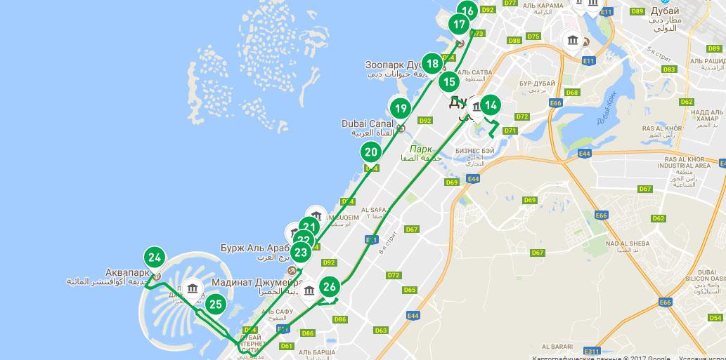 Экскурсионный Зеленый маршрут в Дубаи