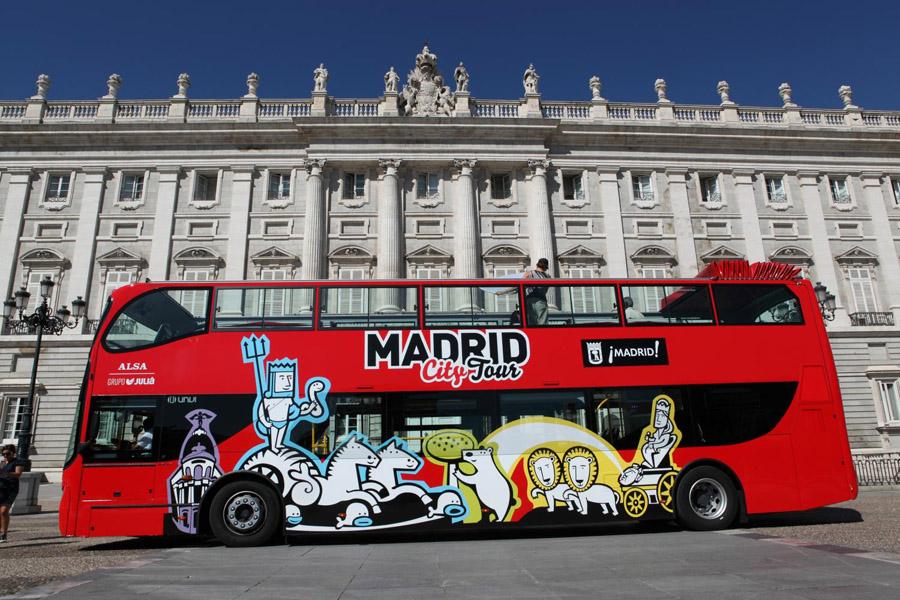 Автобус Мадрид Сити Тур