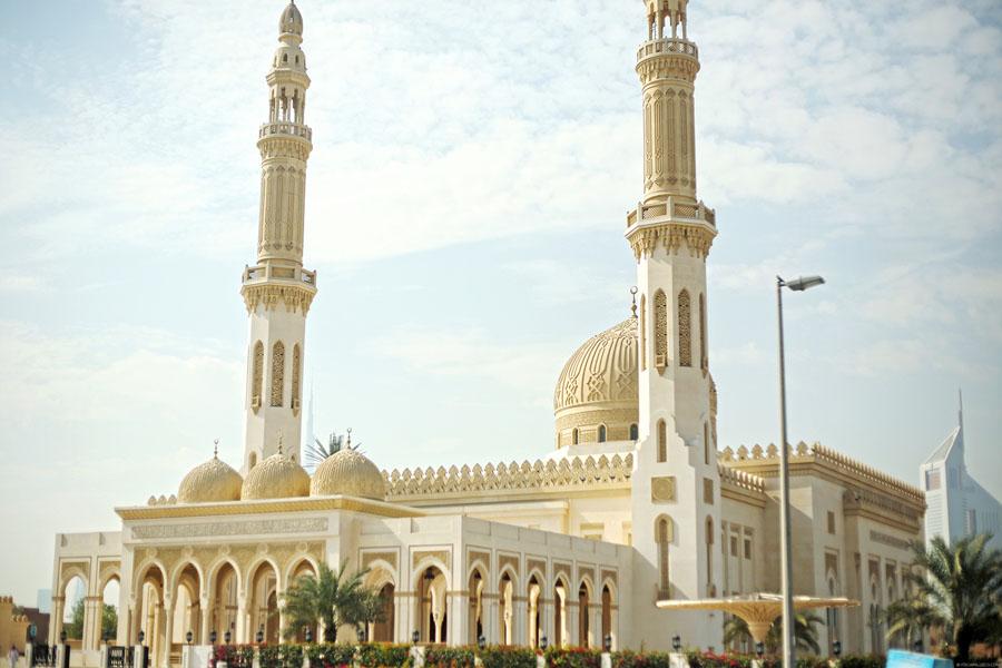 Jumeirah Mosque в Дубаи