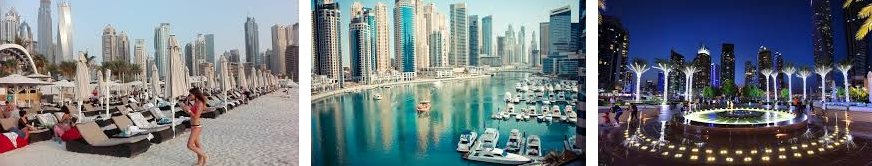 Морская прогулка по Дубай Марина