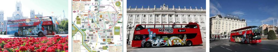Автобусы Madrid City Tour