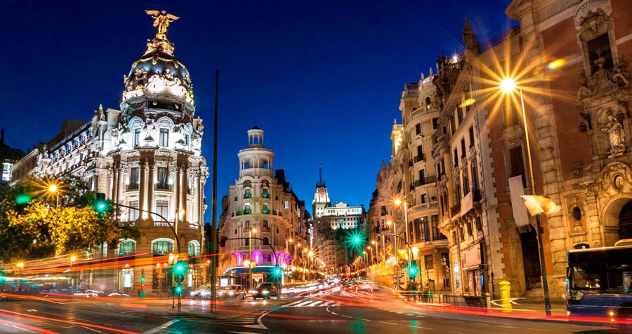 Улица Серано в Мадриде