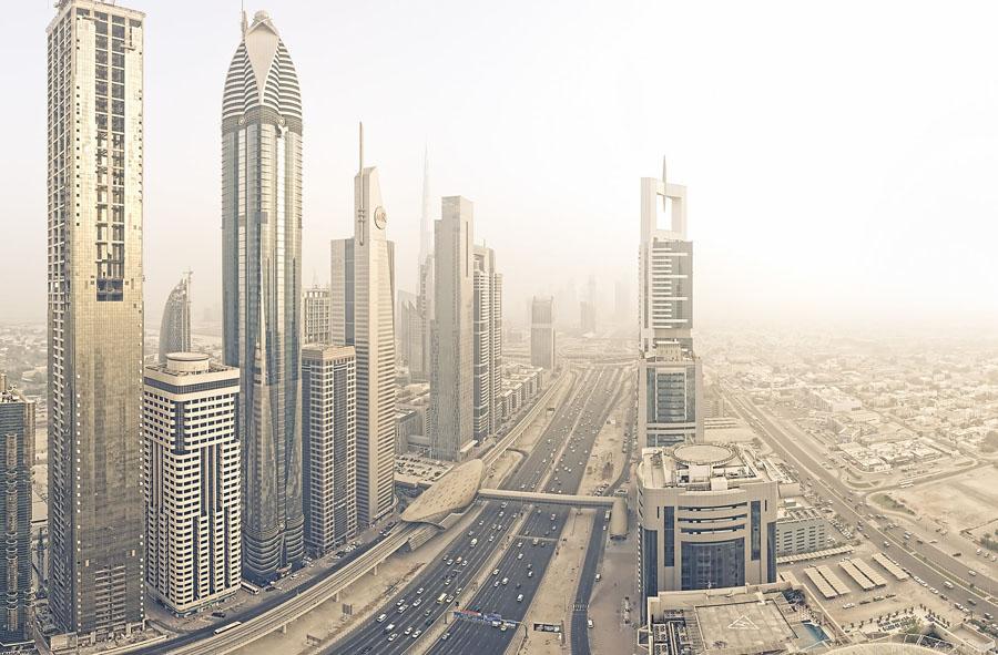 Дорога Шейха Заида в Дубай