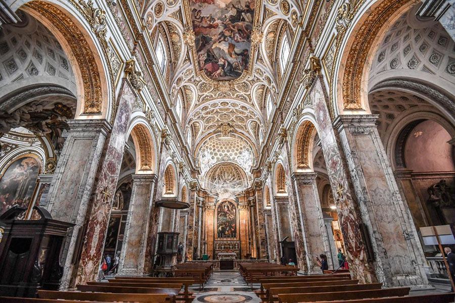 Церковь San Luigi dei Francesi в Риме
