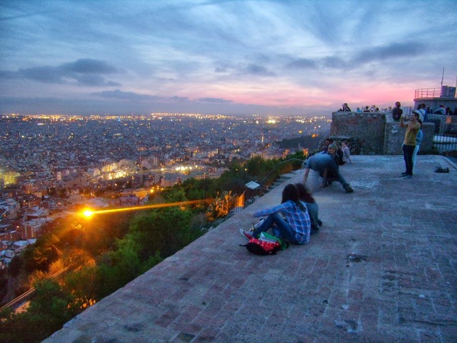Самое романтическое место в Барселоне
