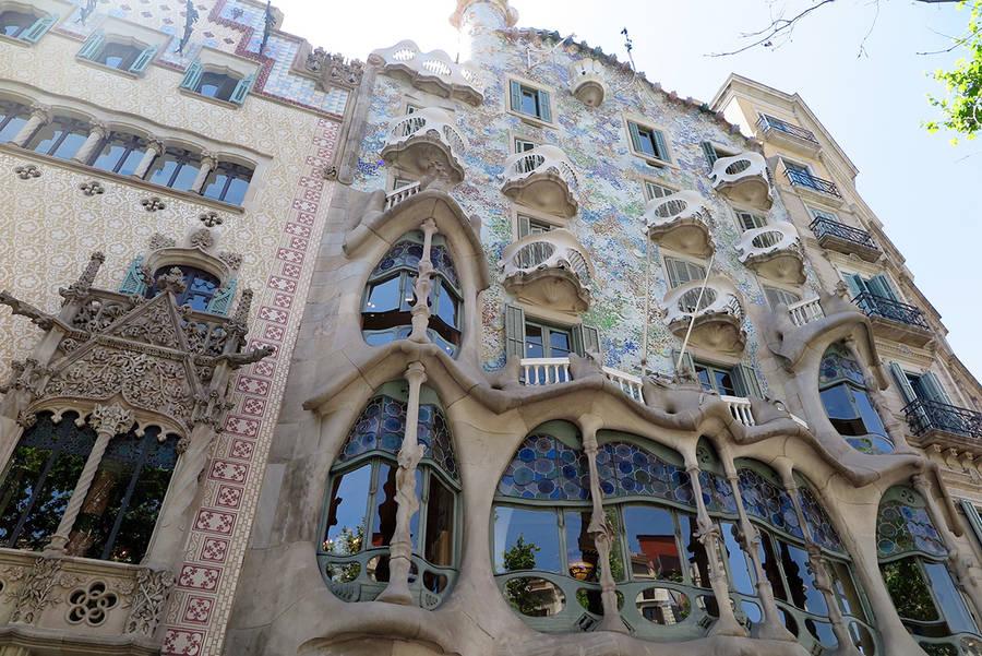 Casa Batllo в Барселоне