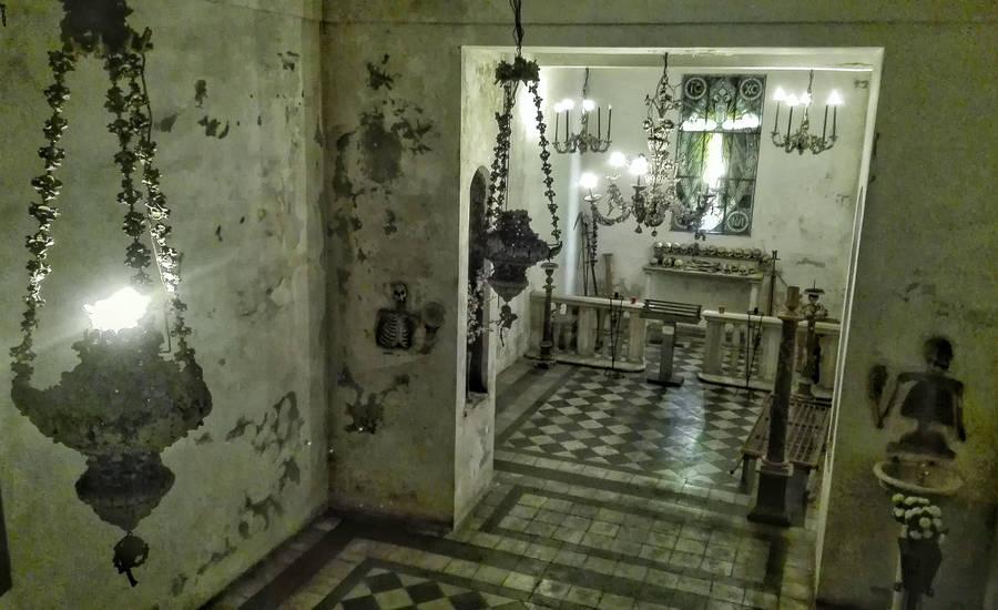 Крипт Santa Maria dell'Orazione e Morte