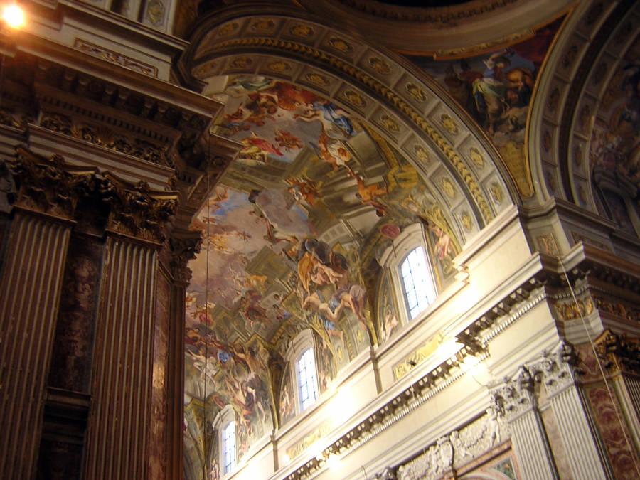 Интерьер церкви Святого Игната