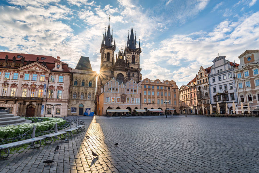 Церковь Тын в Праге