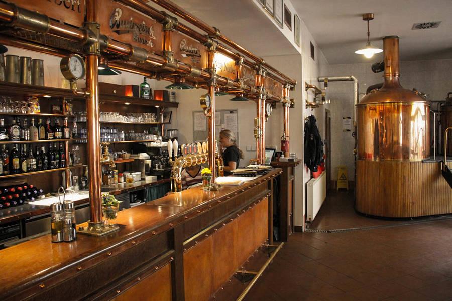 Кластерный пивовар в Праге