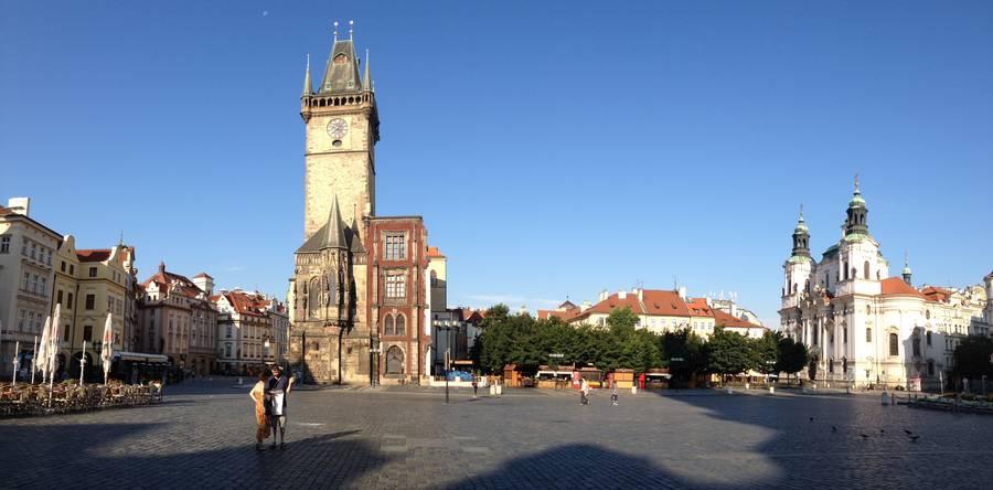 Староместно площадь в Праге