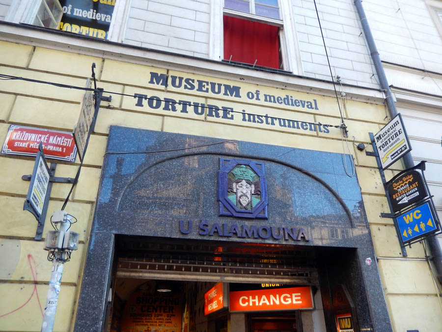 Музей пыток в Праге
