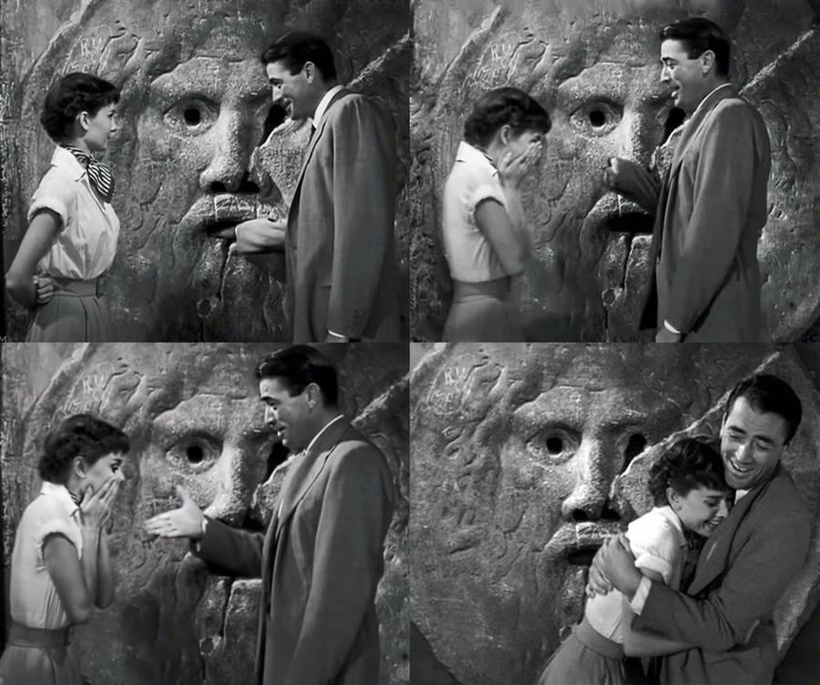 Сцена из фильма Римские Каникулы