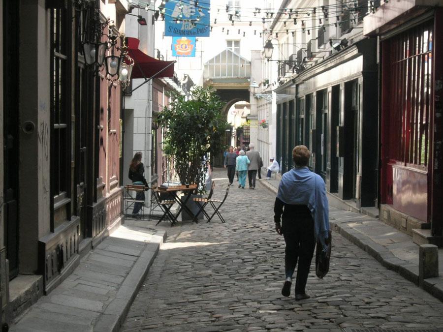 Тишина квартала Маре в Париже