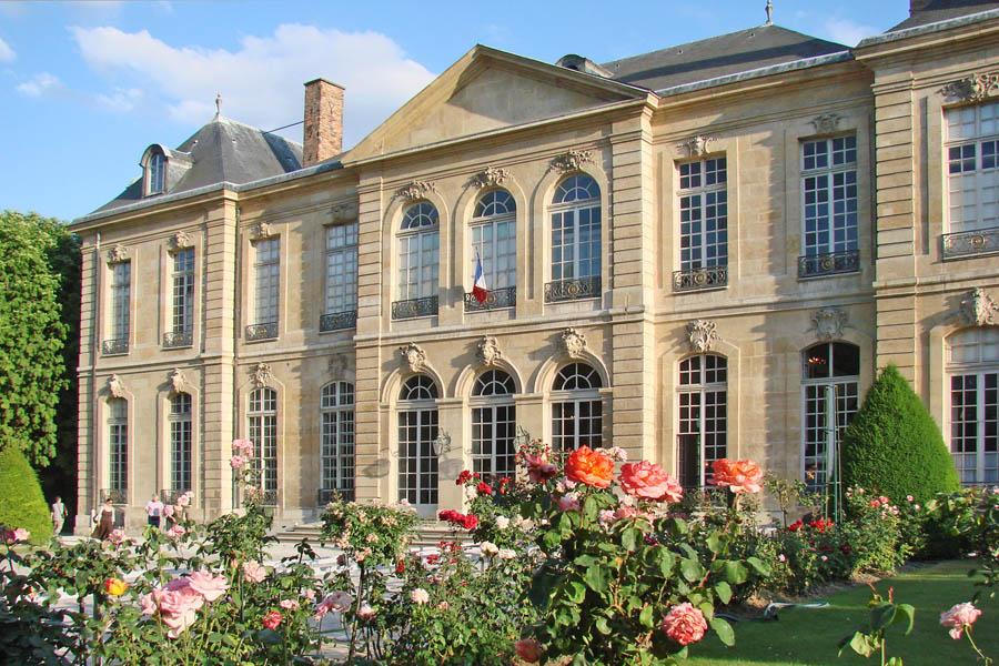 Фасад музея Родена в Париже