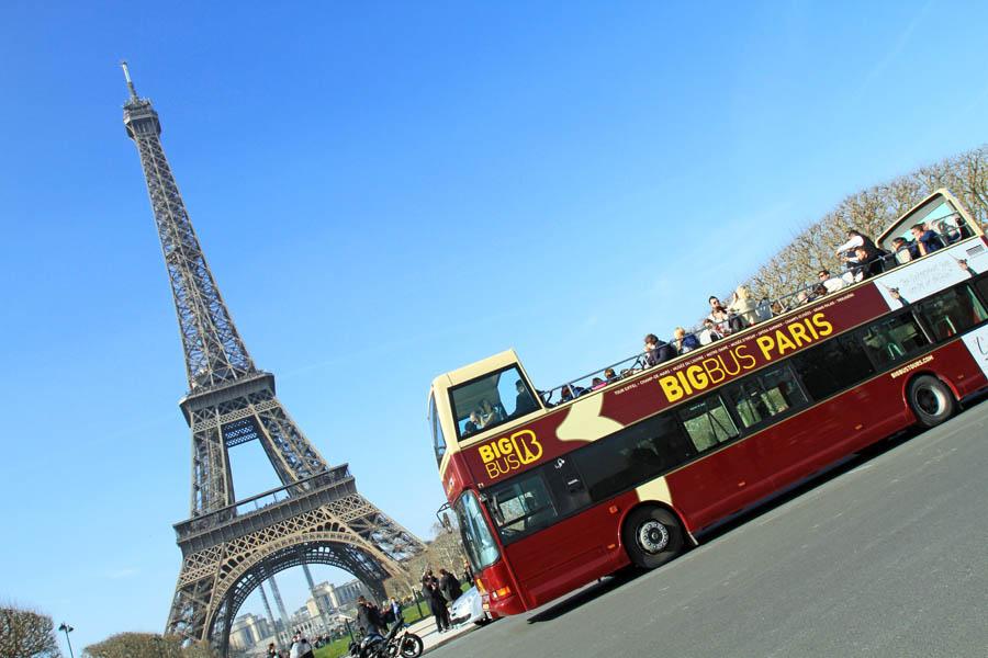 BigBusTours в Париже