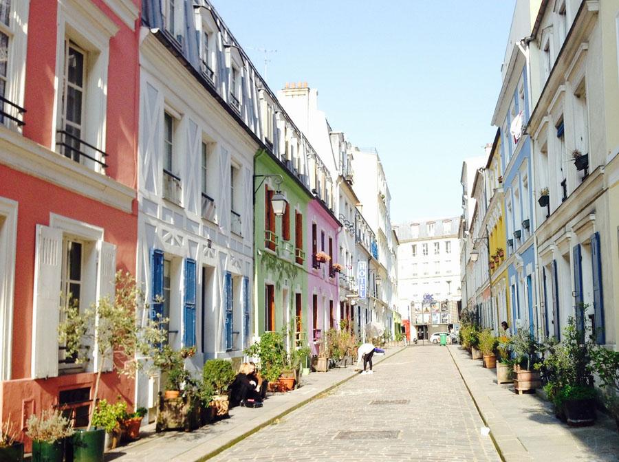 Rue Crémieux в Париже