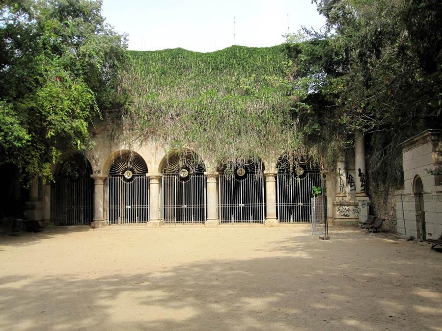 Сады Хосепа Алтимира в Барселоне