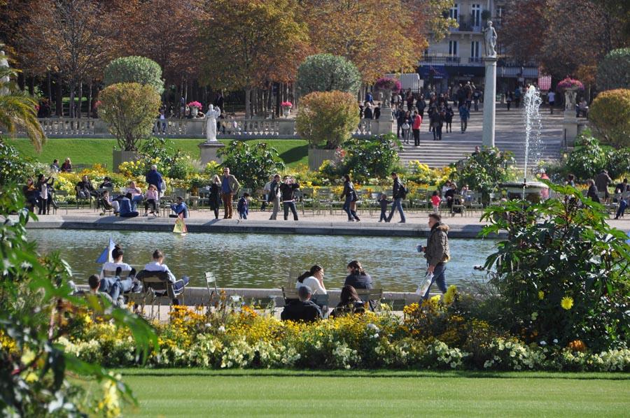 Люксембургский сад в Париже