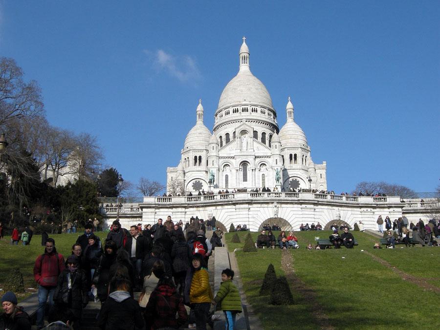 Белая Базилика в Париже